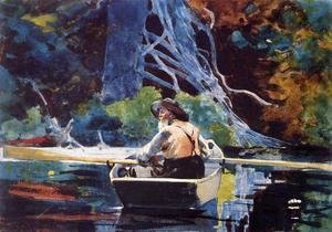 Winslow Homer - The Adirondack Guide