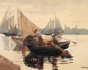 Winslow Homer - The Lobster Pot