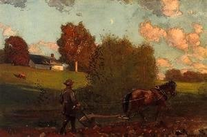 Winslow Homer - The Last Furrow