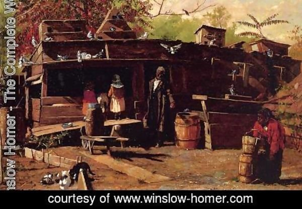 Winslow Homer - Uncle Ned at Home