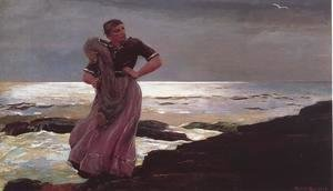Winslow Homer - Light on the Sea