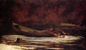 Winslow Homer - Hound and Hunter