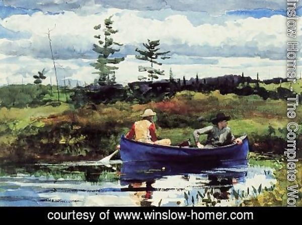 Winslow Homer - The Blue Boat