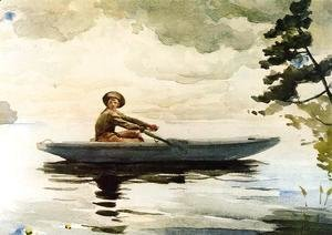 Winslow Homer - The Boatsman