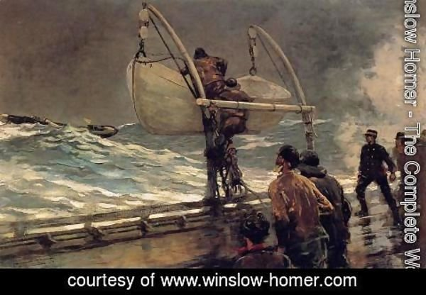 Winslow Homer - The Signal of Distress
