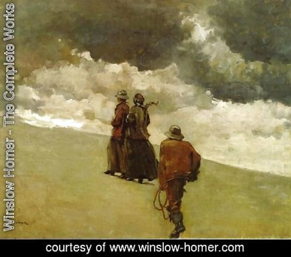 Winslow Homer - To the Rescue