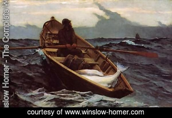 Winslow Homer - The Fog Warning