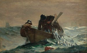Winslow Homer - The Herring Net
