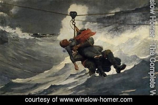 Winslow Homer - The Life Line