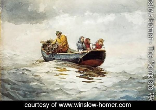 Winslow Homer - Crab Fishing