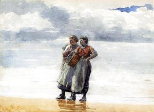 Winslow Homer - Daughters of the Sea