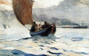 Winslow Homer - Returning Fishing Boats