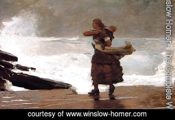Winslow Homer - The Gale