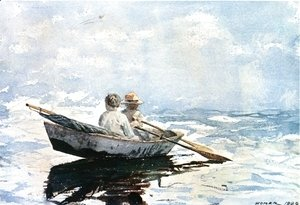 Winslow Homer - Rowboat