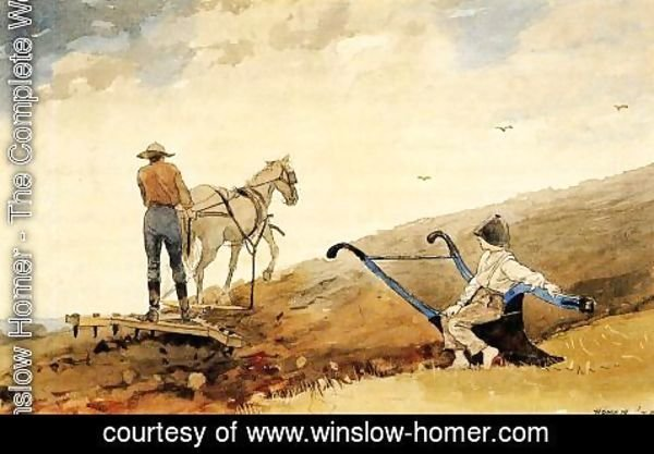 Winslow Homer - Harrowing