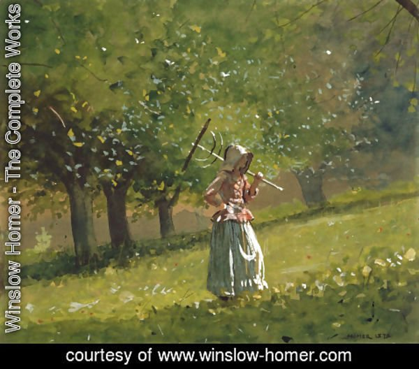 Winslow Homer - Girl with a Hay Rake