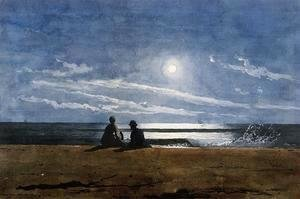 Winslow Homer - Moonlight
