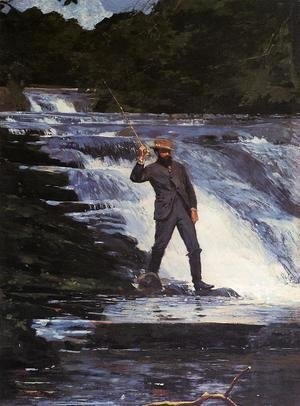 Winslow Homer - The Angler