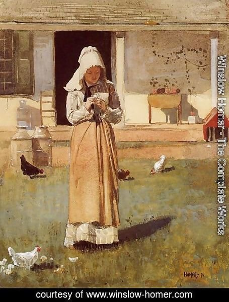 Winslow Homer - The Sick Chicken