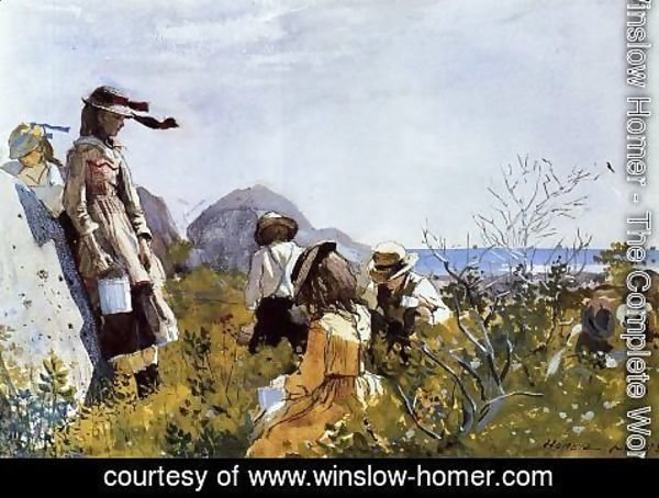 Winslow Homer - The Berry Pickers