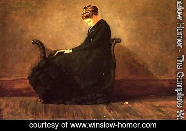 Winslow Homer - Portrait of Helena de Kay