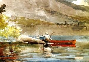 Winslow Homer - The Red Canoe