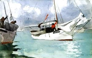 Winslow Homer - Fishing Boats, Key West