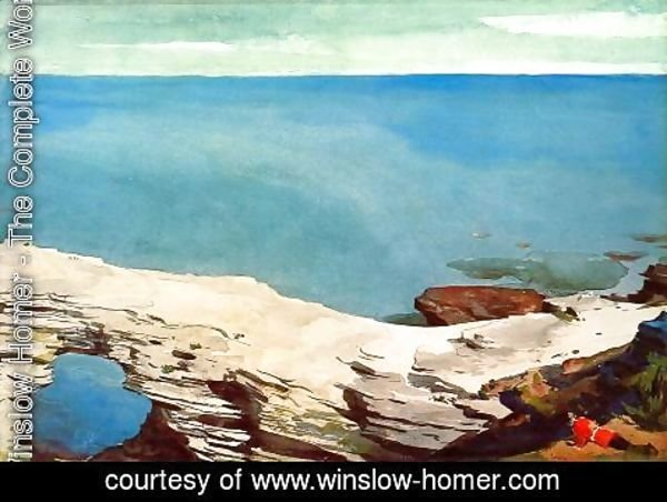 Winslow Homer - Natural Bridge, Bermuda