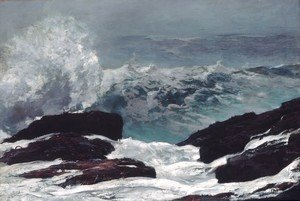 Winslow Homer - Maine Coast