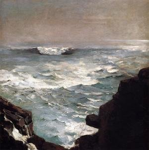 Winslow Homer - Cannon Rock