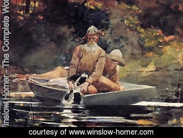 Winslow Homer - After the Hunt