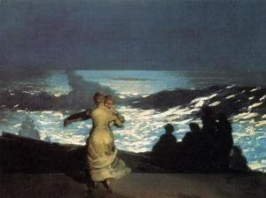 Winslow Homer - A Summer Night