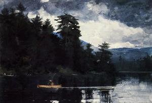 Winslow Homer - Adirondack Lake