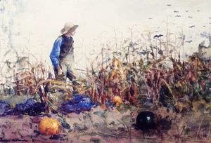 Winslow Homer - Among the Vegetables (or Boy in a Cornfield)