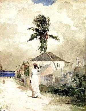 Winslow Homer - Along the Road, Bahamas