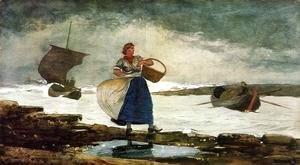 Winslow Homer - Inside the Bar