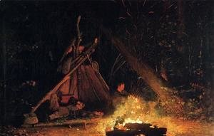 Winslow Homer - Camp Fire