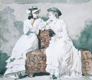 Winslow Homer - Two Ladies