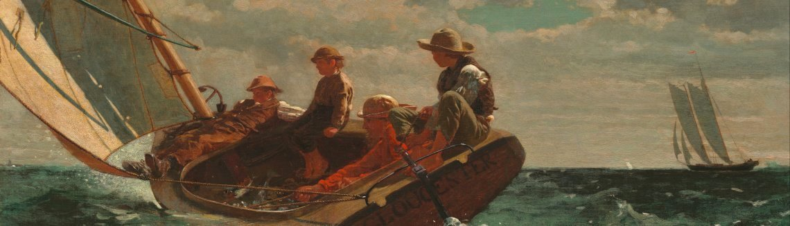 Winslow Homer - Breezing Up (or A Fair Wind)