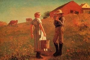 Winslow Homer - A Temperance Meeting (or Noon Time)