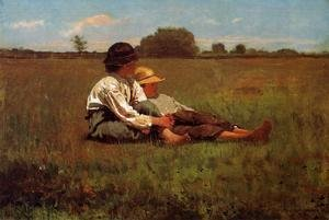 Winslow Homer - Boys in a Pasture