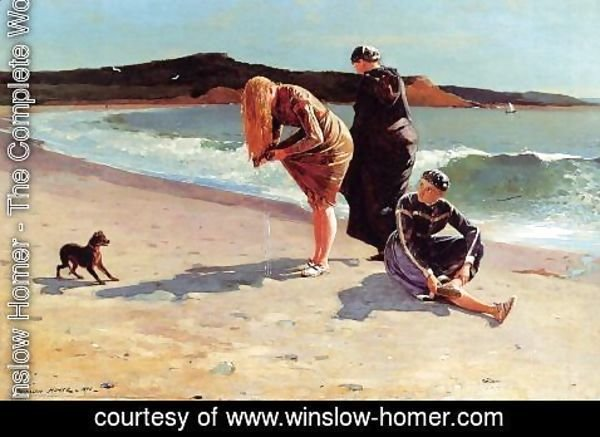 Winslow Homer - Eagle Head, Manchester, Massachusetts (High Tide)