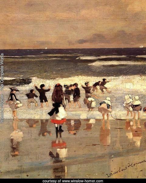 Beach Scene (or Children in the Surf)