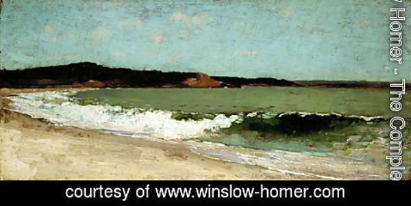 Winslow Homer - Study for Eagle Head, Manchester, Massachusetts