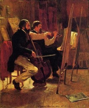Winslow Homer - The Studio