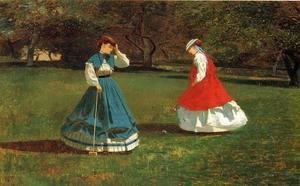 Winslow Homer - A Game of Croquet