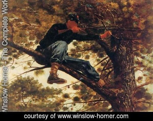 Winslow Homer - The Sharpshooter on Picket Duty