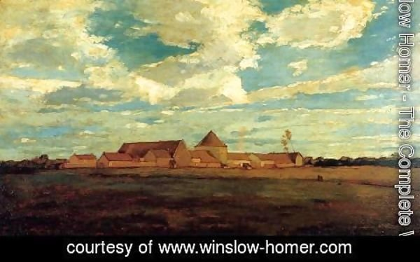 Winslow Homer - Cernay la Ville - French Farm
