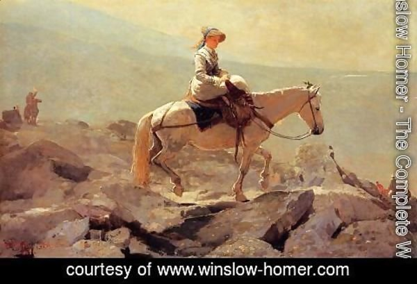 Winslow Homer - The Bridle Path, White Mountains