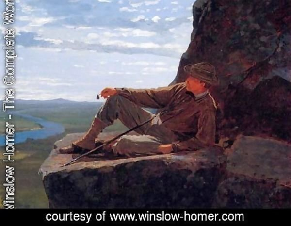 Winslow Homer - Mountain Climber Resting